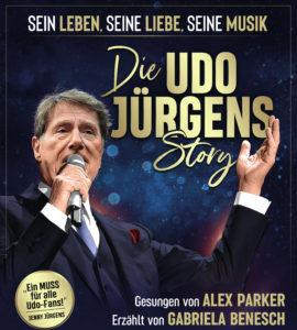 udo jürgens mit mikrofon am singen auf dem plakat der udo jürgens story