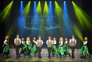 die danceperados of ireland auf der bühne